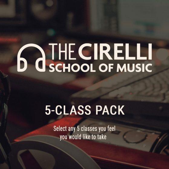 The Cirelli School of Music: 5-Class Pack