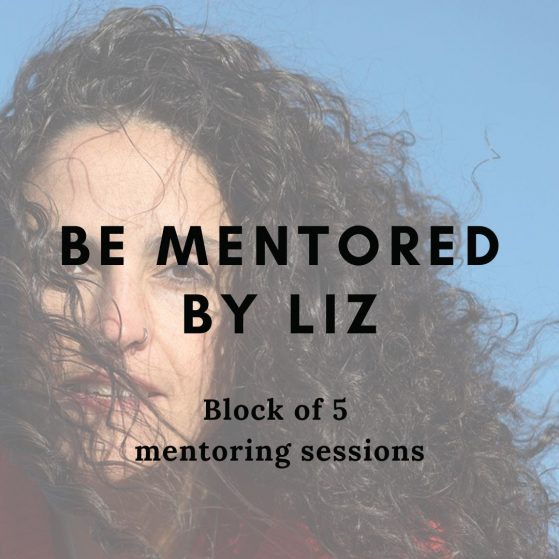 Be Mentored by Liz - Book A Block Of 5 Sessions